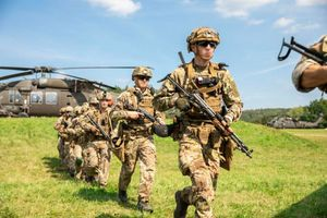Ukrainian Special Forces integrate with U.S. Forces during exercise in Germany