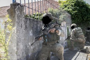Commandos train CQB in preparation for 8th FND for RCA