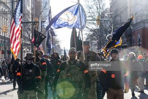 Weapons protests in Richmond, Virginia. January 20, 2020