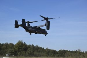 """Rapid Trident 2020"": American ""Osprey"" in the sky of Lviv region"