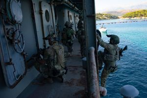 Visit, Board, Search and Seizure (VBSS), Greece, 31 July 2020