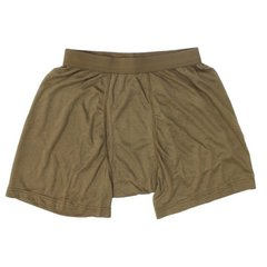 Boxer Level 1 PCU Silver Coated Nylon, Coyote Brown, Large