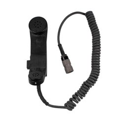 Military Handset Radio H-250/U (Used), Black