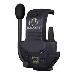 Walker's Razor Walkie Talkie Handsfree Communication, Black