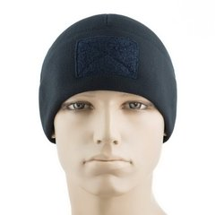 Шапка M-Tac Watch Cap Elite Флис (270г/м2) с липучкой, Navy Blue, Medium