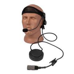 Thales Lightweight MBITR Headset USA, Black