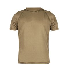 PCU Level 1 T-Shirt Silver Coated Nylon, Coyote Brown, Large