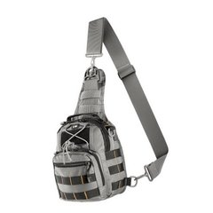 Сумка M-Tac Urban Line City Patrol Carabiner Bag, Сірий