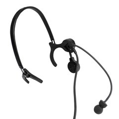 Thales Lightweight MBITR Headset USA for Kenwood (Used), Black