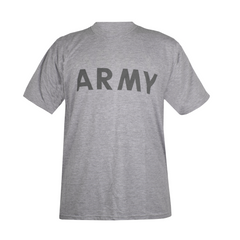Футболка для занять спортом US ARMY IPFU PT T-Shirt, Сірий, Medium