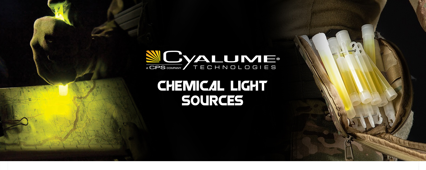 Cyalume chemical light sources