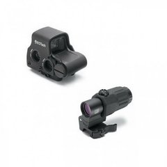 EOTech EXPS3-4 Holographic WeaponSight with magnifier G33FTS, Black