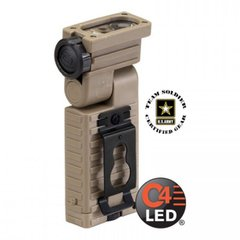 Streamlight Sidewinder Tactical Flashlight, Coyote Brown, Blue, White, IR, Red
