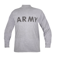 Кофта з довгим рукавом US ARMY IPFU Long Sleeve, Сірий, Medium