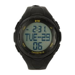 M-Tac tactical watch with step counter, Black