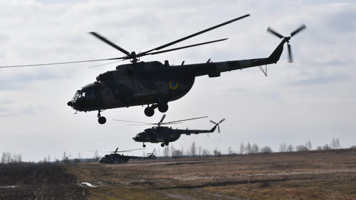 Army Aviation, Landing and Live-Shooting - Airborne Assault Hones Interaction
