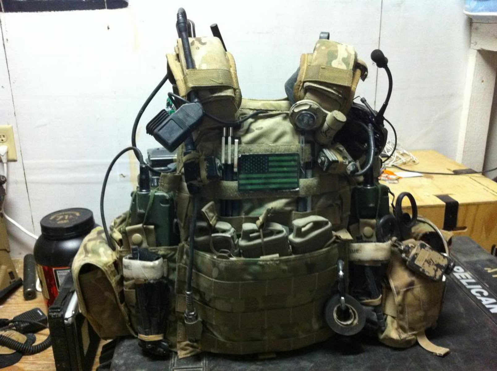 SOF JTAC equipment