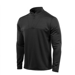 M-Tac Fleece Delta Level 2 Black Thermal Shirt, Black, Small