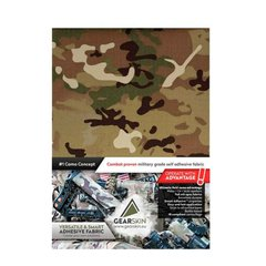 GearSkin Regular Self Adhesive Camouflage Fabric, Camouflage