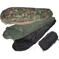 Sleeping bags and components