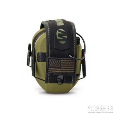 Активные наушники Walker's Razor Patriot Series Slim Electronic Muffs, Olive Drab