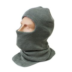 US Army Seneca Cayuga Extended Cold Weather Hood Balaclava, Foliage Green
