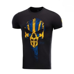 M-Tac T-shirt Avenger Yellow/Blue, Black, Large